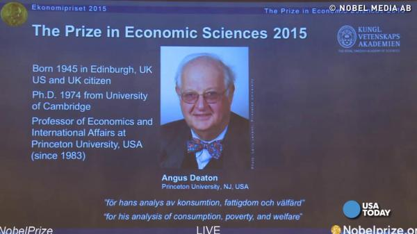 A complete list of 2015's Nobel Prize winners