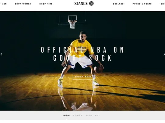 Stance is the official sock of the NBA