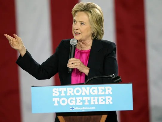 Hillary Clinton has made a career fighting for gender