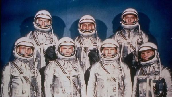 Who were the Mercury 7 astronauts?