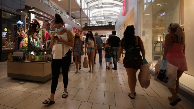 Shoppers with pent-up demand and lots of extra cash could significantly boost economic growth this year.