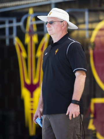 Bob Bowman began coaching at Arizona State in 2015.