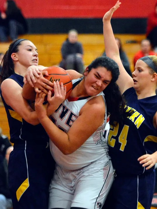 Eastern York vs Dover girls' basketball