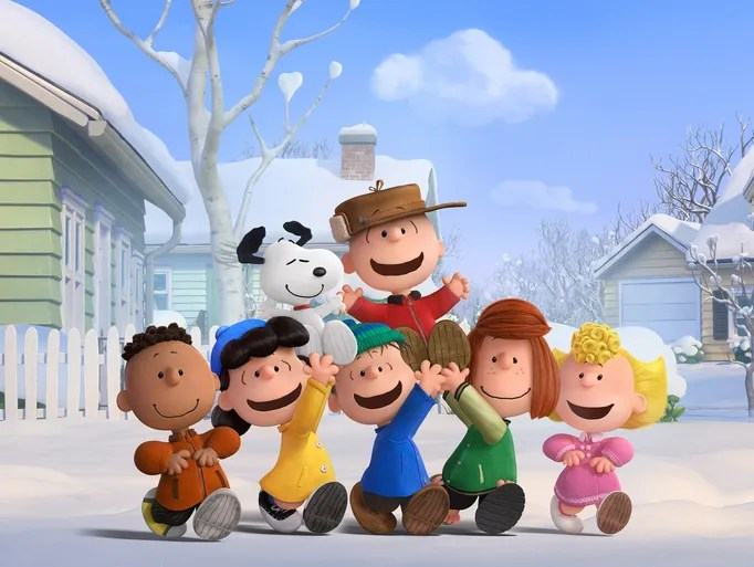 Charlie Brown, Snoopy and the Peanuts gang (Franklin,