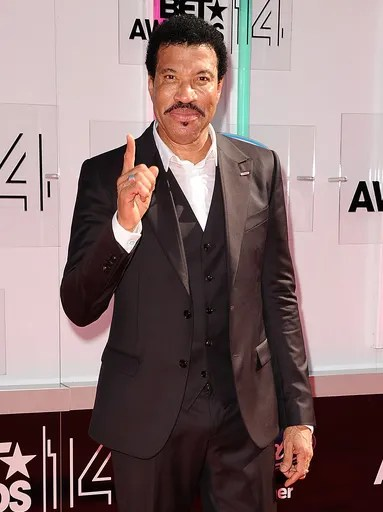 Honoree Lionel Richie attends the BET Awards.