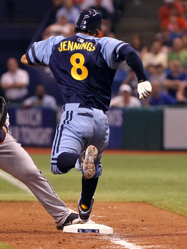 So why would the Tampa Bay Rays replicate that style in their color scheme for faux throwback a 2012?