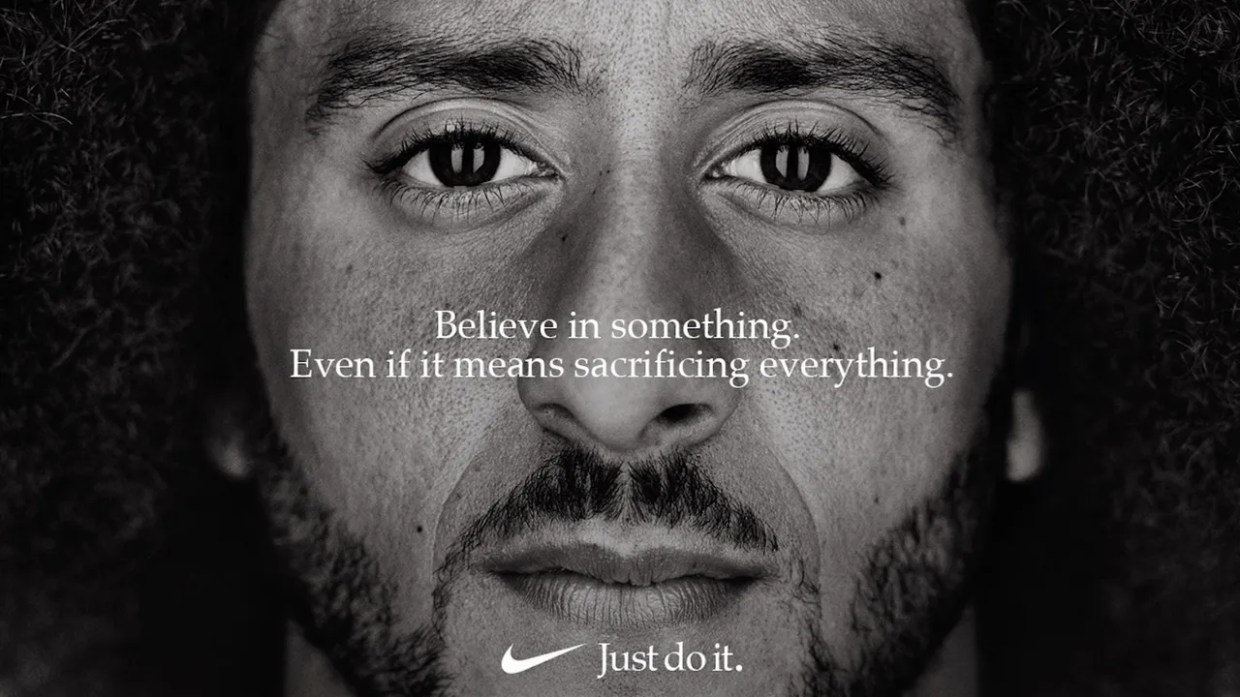 Image result for Colin kaeperniCK add