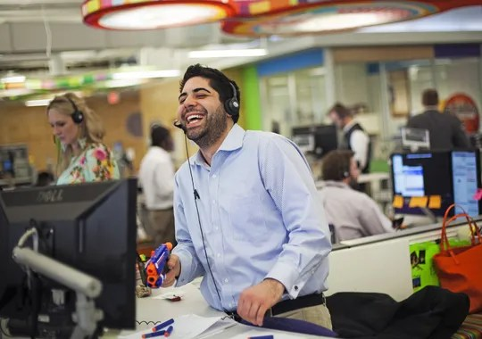 Fun plus hard work equals success for Quicken Loans