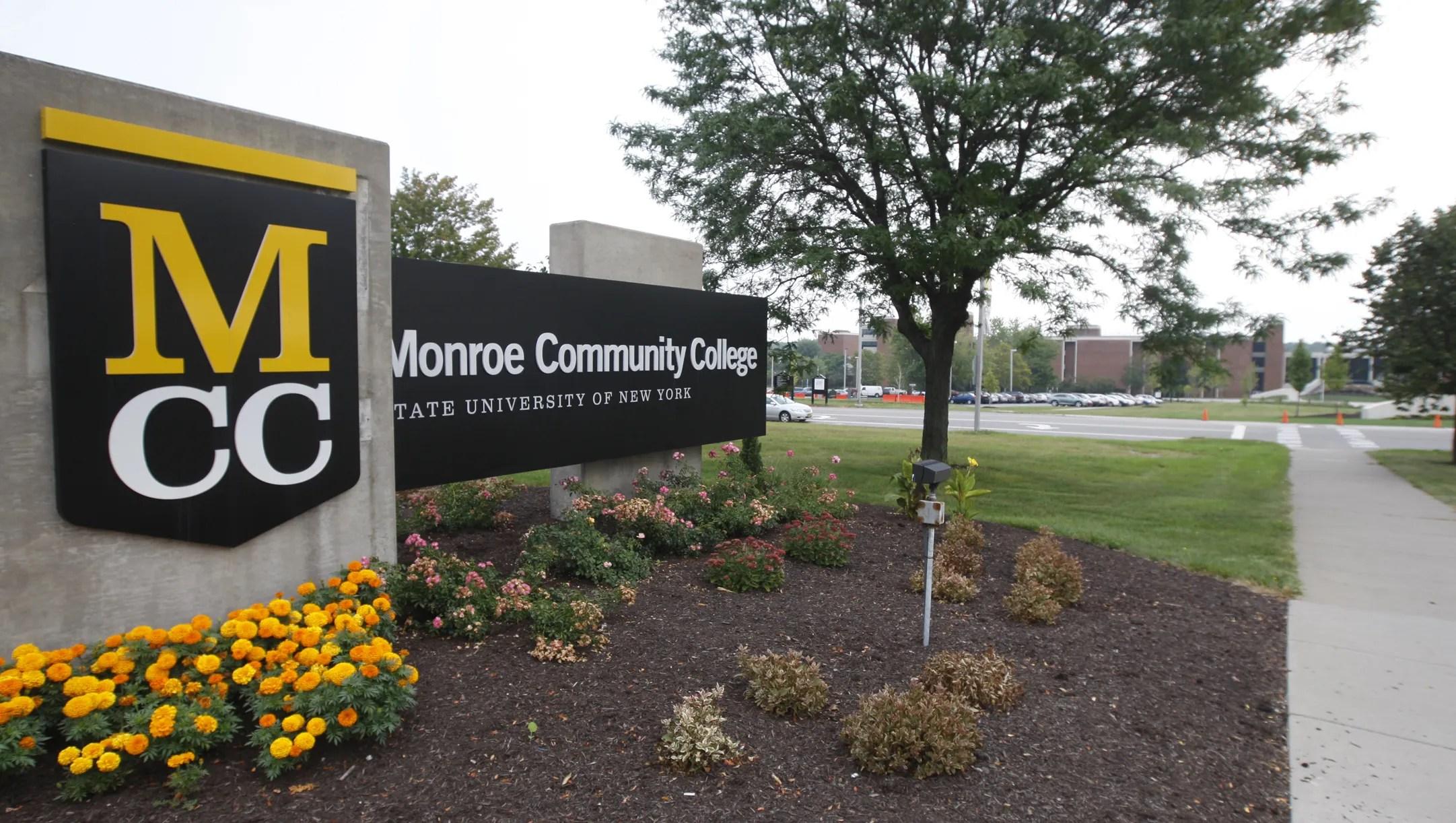 Monroe Community College responds to tweet's racial slur