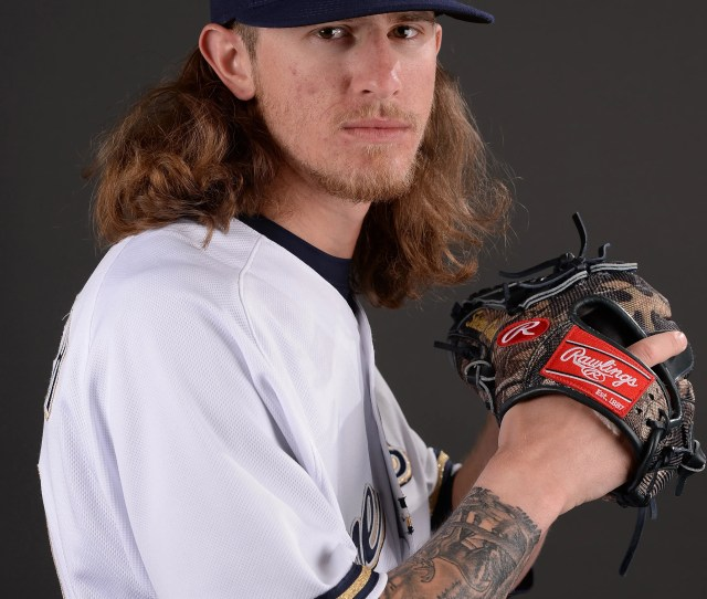 Mlb Milwaukee Brewers Media Day Brewers Reliever Josh Hader
