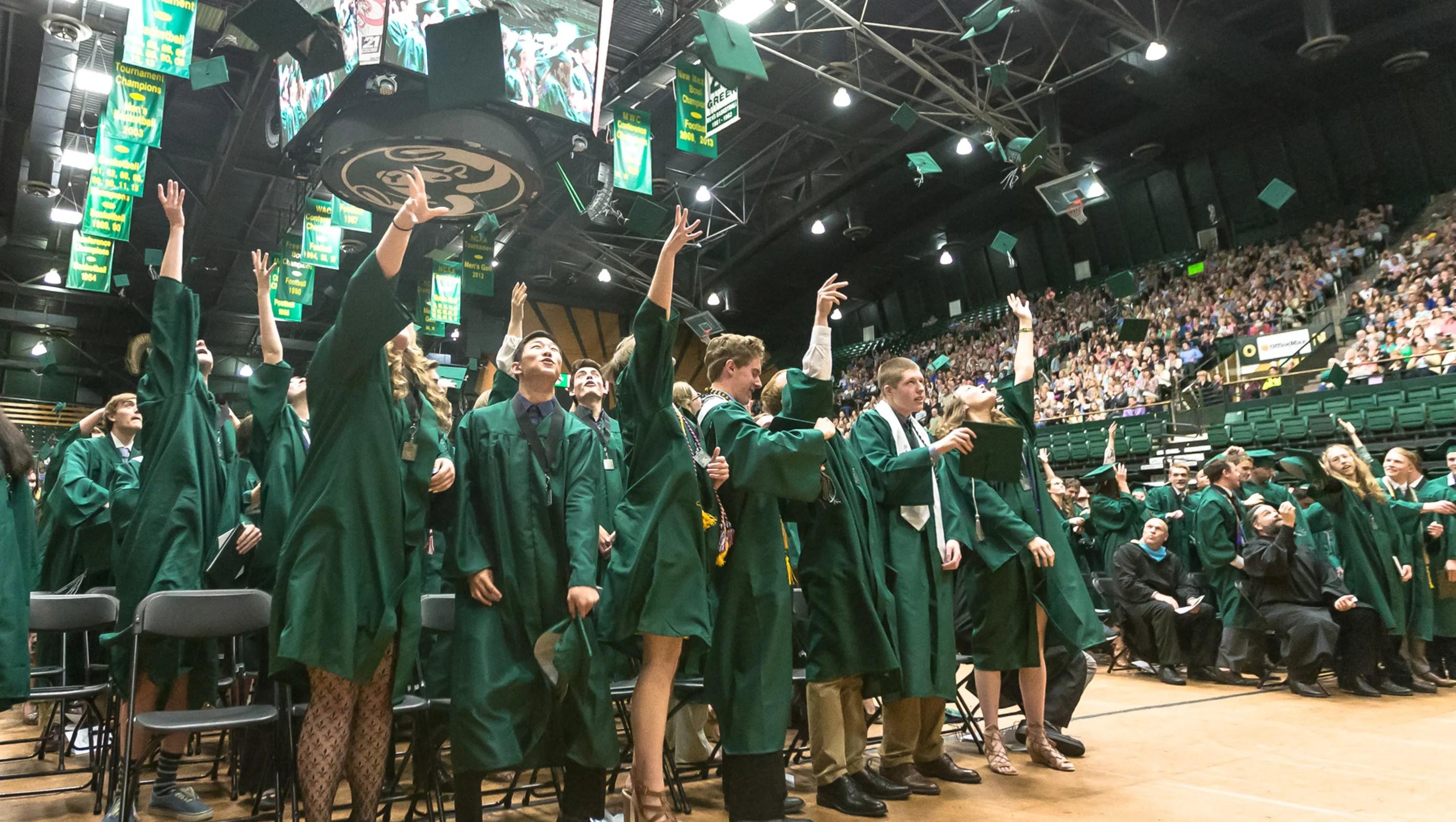 Fossil Ridge High School Graduation
