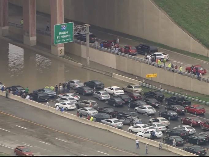 Flooding in Dallas. Friday, May 29, 2015.
