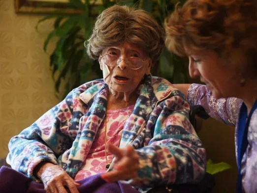 Adele Dunlap is now the oldest person in America at