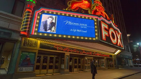 Image result for fox theater mike ilitch
