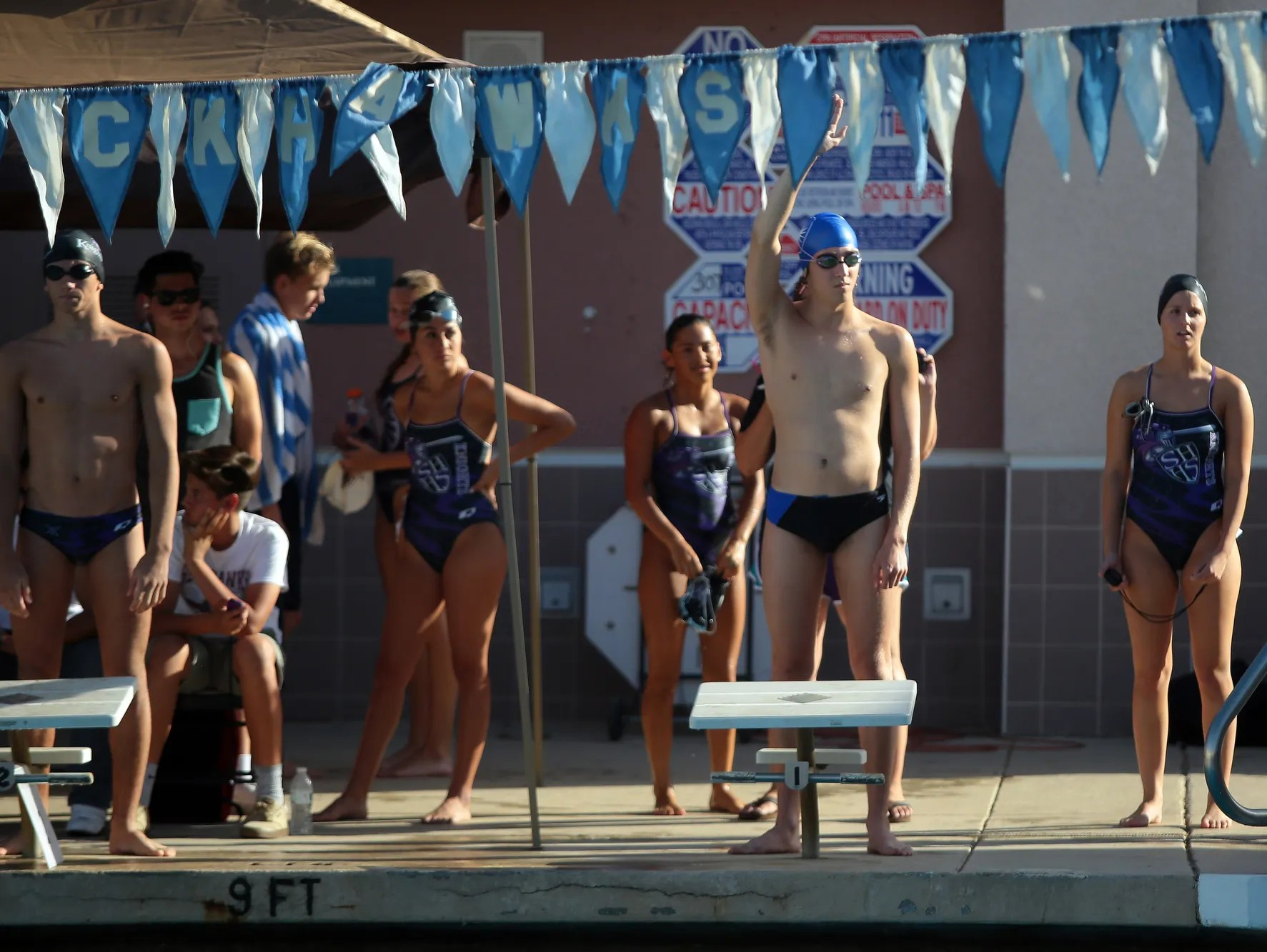 Pair Of Desert Christian Swimmers Form School S Swim Team Usa
