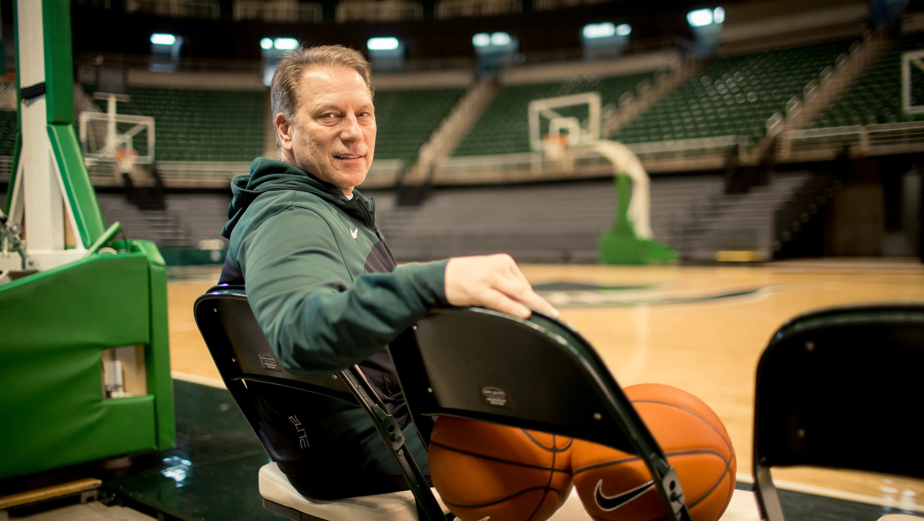 Michigan States Tom Izzo Is Mr March