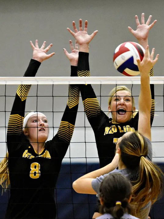 York Suburban vs Red Lion Girls' vball Tournament Final