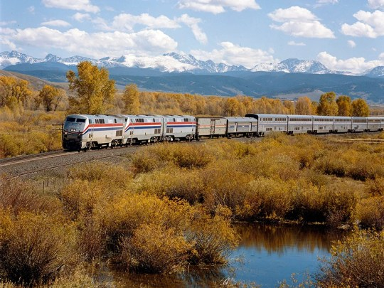 """Amtrak announced a new """"Share Fares"""" discount on Wednesday, which will let customers buy tickets in a group at a discount."""