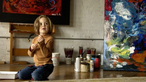 Catching up with child art prodigy Marla Olmstead