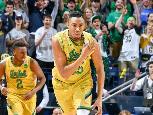Bonzie Colson double-doubles: Irish 'expect this of him'