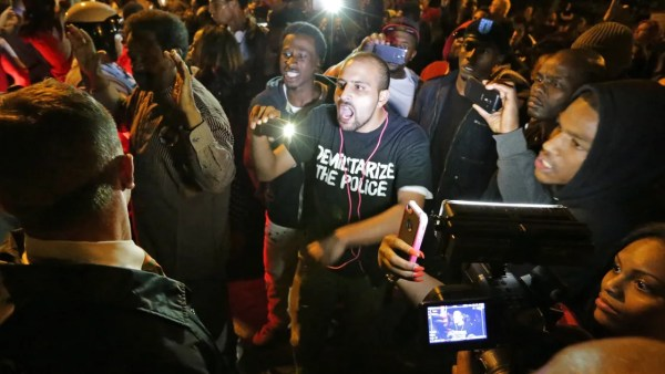 Protests resume in St. Louis over police shooting