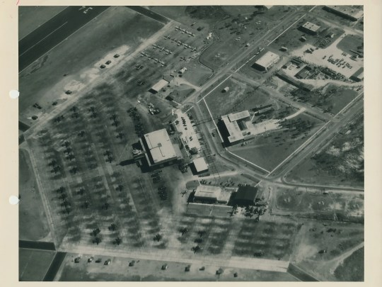 The Naval Air Station in Melbourne.