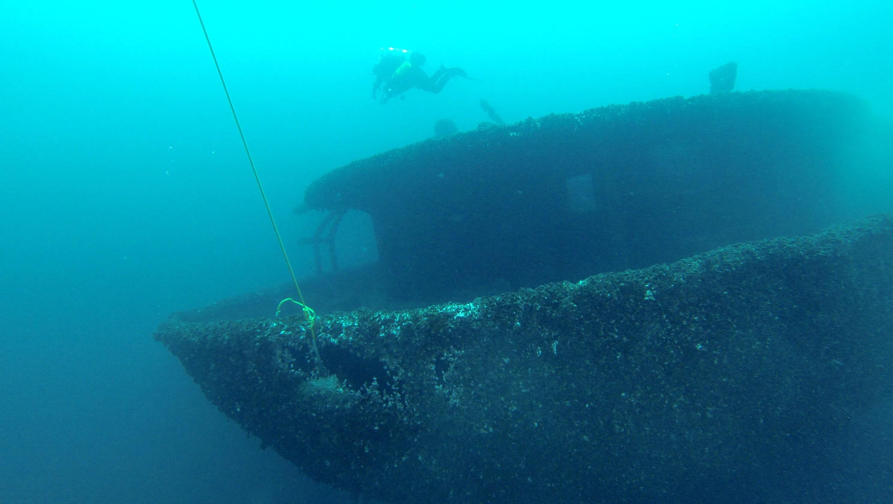 Man Discovers Lake Huron Shipwreck Missing Since