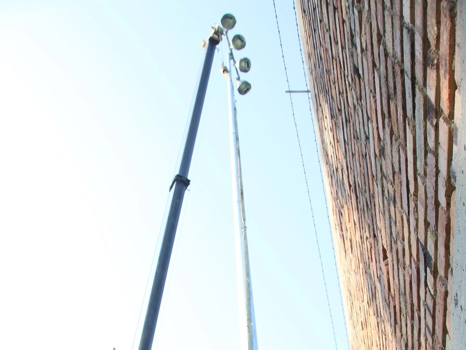 Lights Brighten Fort Dodge S Ed Mcneil Field Usa Today