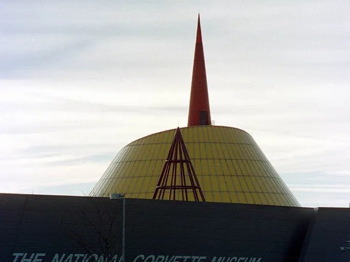 The 'Sky Dome' at the National Corvette Museum.