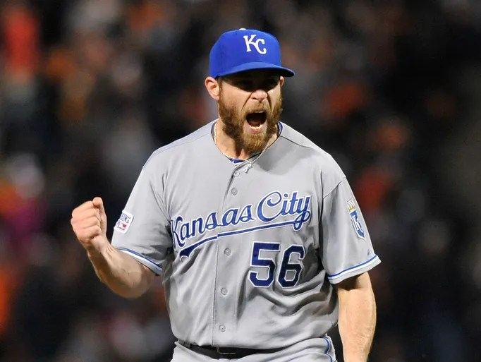 ALCS Game 2, Royals at Orioles - Royals closer Greg