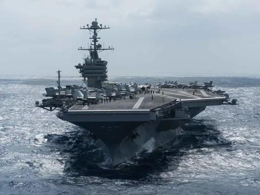 USS John C. Stennis operations