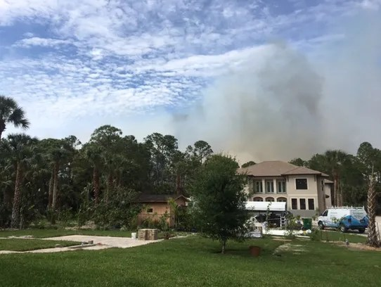 Florida Forest Service: Collier blaze 85 percent contained ...