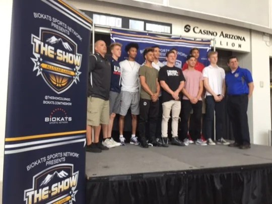 Boys all-stars gathers for media day for The Show