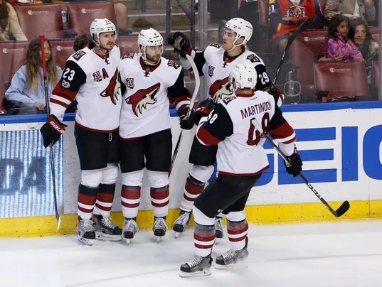 NHL: Arizona Coyotes at Florida Panthers