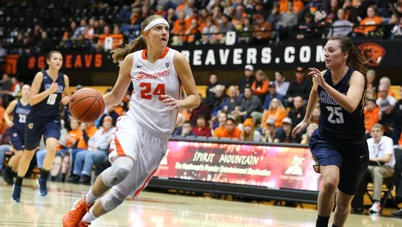 Three Oregon State women's basketball players named all-Pac-12
