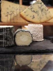A variety of cheeses availabe at The Cheese Cave in