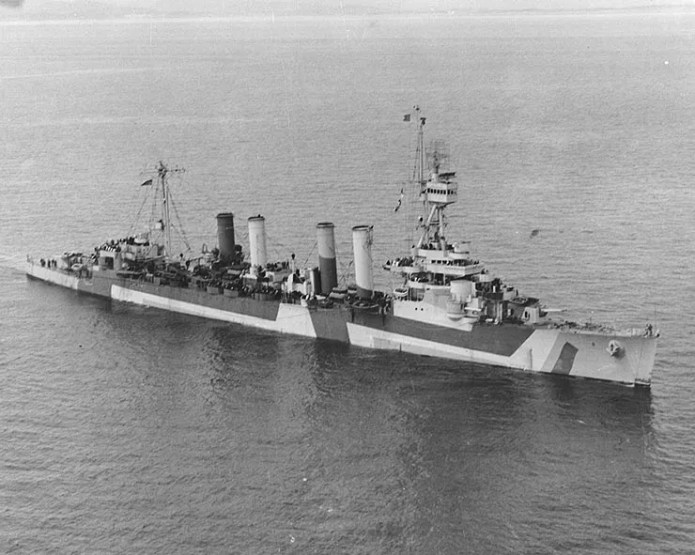 The fourth USS Detroit was decommissioned at Philadelphia on Jan. 11, 1946.
