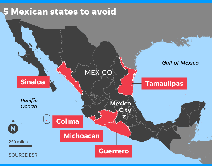 Us Dept Of State Travel To Mexico