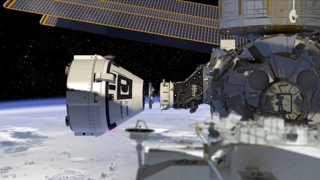 636585514887299239-boeing-starliner-dock-to-iss-co Boeing suffers anomaly during Starliner test of launch abort engines in New Mexico