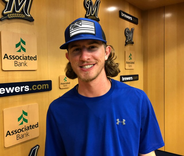 When Baseball And The Brewers Dont Demand His Time Josh Hader Heads Into The Woods
