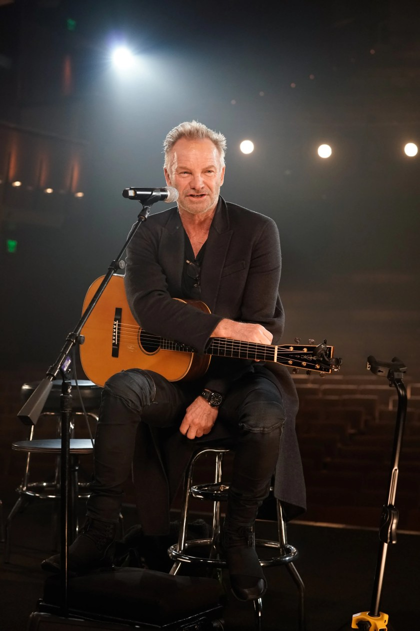 """Sting's 1998 biography """"Demolition Man"""" delved into the singer's tantric sex habits, in which he would hold himself back while making love for several hours at a time. He later debunked the rumors about it during a 2014 """"Inside the Actor's Studio"""" interview.""""If we had seven hours, I would demonstrate,"""" he said. """"Maybe not. But there is some truth to it. The idea of tantric sex is a spiritual act. I don't know any purer and better way of expressing a love for another individual than sharing that wonderful, I call it, 'sacrament.' I would stand by it. Not seven hours, but the idea."""""""