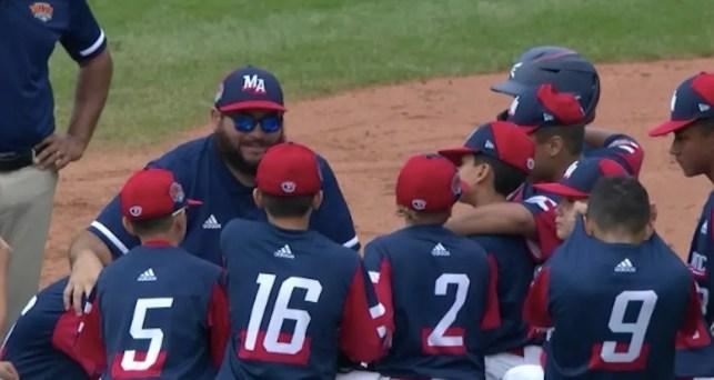 A little league coach gave his team an incredibly heartfelt speech after loss at LLWS