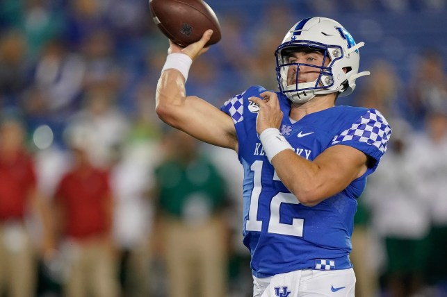 Sawyer Smith ready for first start as Kentucky's starting QB