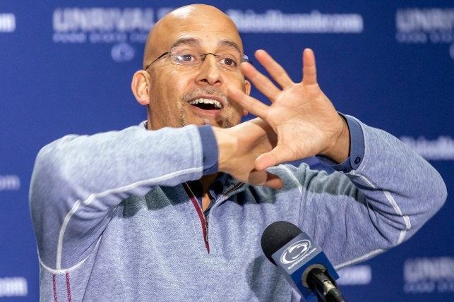 Why Penn State football coach James Franklin 'stole' dumbbells, took them to his condo