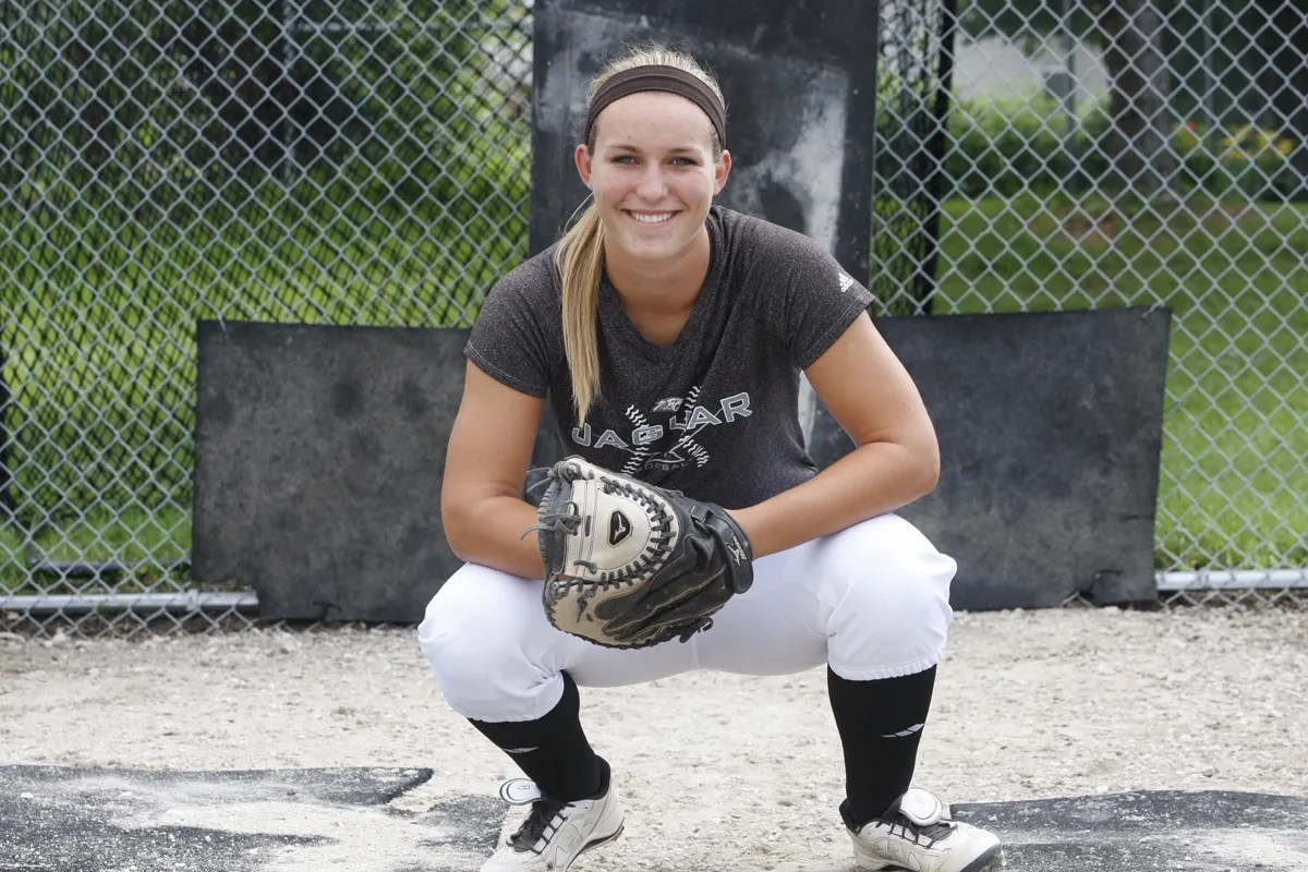 Kendyl Lindaman strikes fear into foes even before swinging her bat