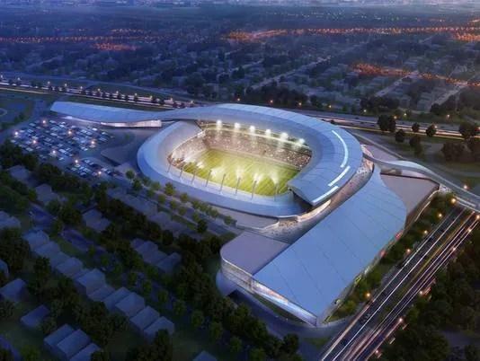 Proposed New York Cosmos Stadium