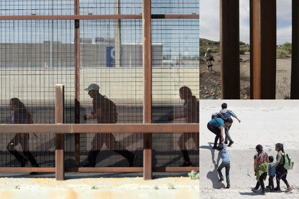 Resultado de imagen para Smugglers in Mexico are sawing through the border wall