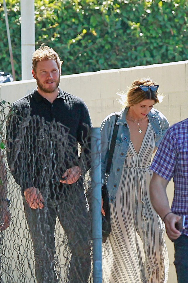 Chris Pratt and Katherine Schwarzenegger: Things are heating up