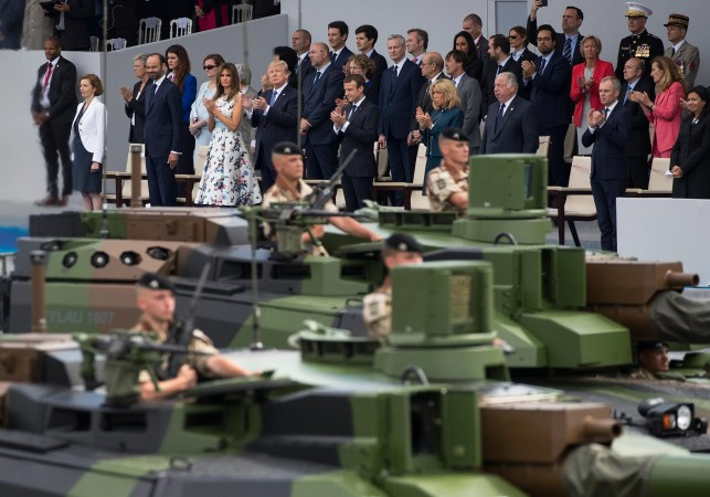 Pentagon says Trump's military parade postponed until 2019 amid reports costs jumped 666%