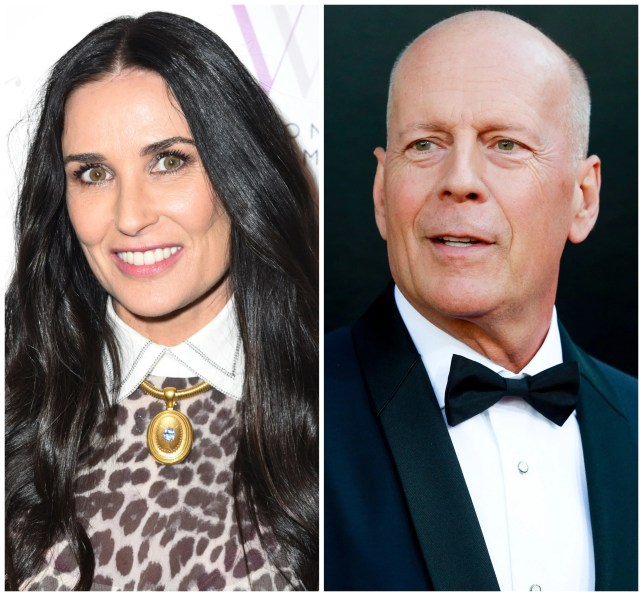 Demi Moore, Bruce Willis reunite for daughter Rumer's 30th birthday party